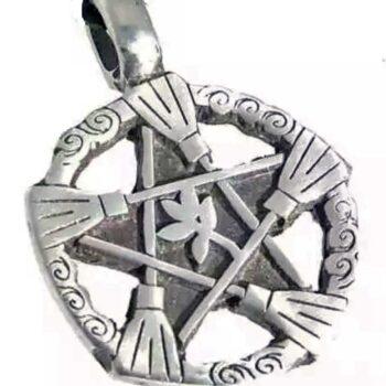 Wicca triple diosa pentáculos